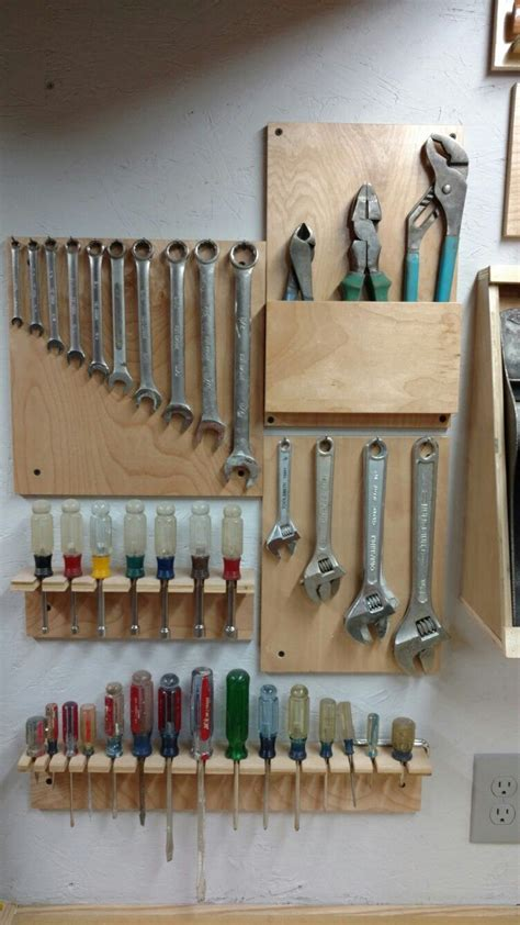 tool wall bills woodworking projects garage workshop