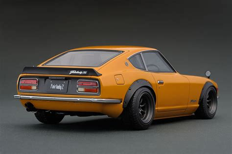 nissan fairlady z s30 ig0687 1 18 nissan fairlady z s30 brown line up