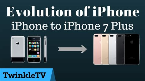 One New Worldz3668 Iphone 7 iphone 1st to iphone 7 evolution of iphone a flashback and look on new features