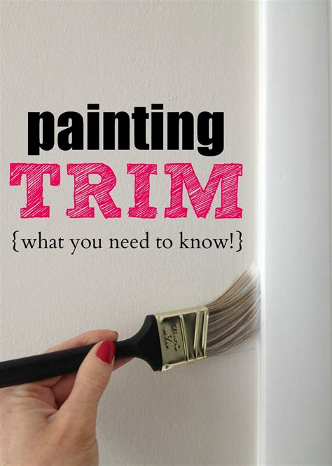 what do you need to paint a room livelovediy painting trim walls what you need to