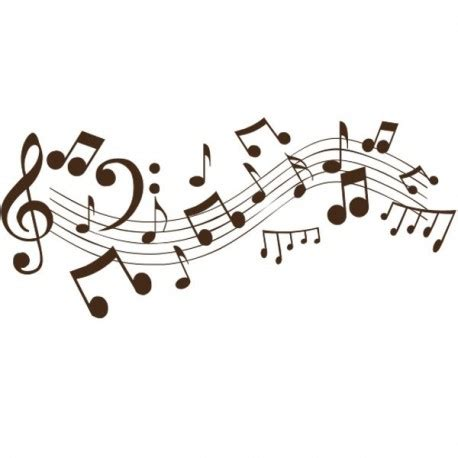 sticker notes de musique adh 233 sif d 233 coratif autocollant pour une d 233 coration tendance
