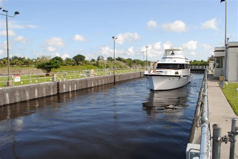 public boat r near john s pass corps proposes operations changes on okeechobee waterway
