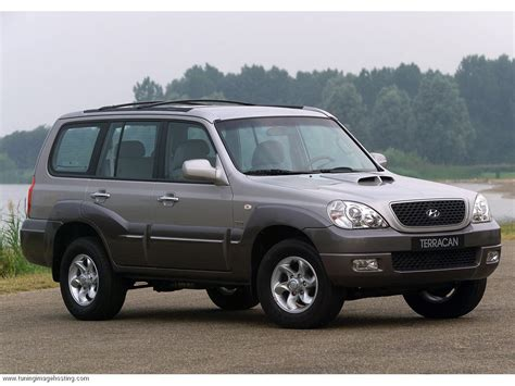 hyundai terra hyundai terracan 2 5d 80hp car technical data power