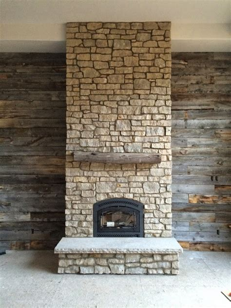 reclaimed wood and stone fireplace wall reduce reuse recycle using your leftovers hearth