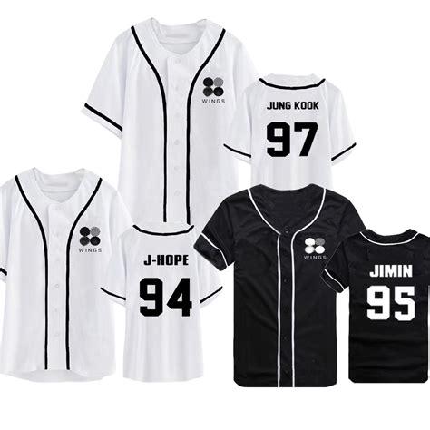 Kaos Tshirt Bts Wings us 11 99 allkpoper kpop bts wings t shirt bangtan boys sleeve baseball tshirt