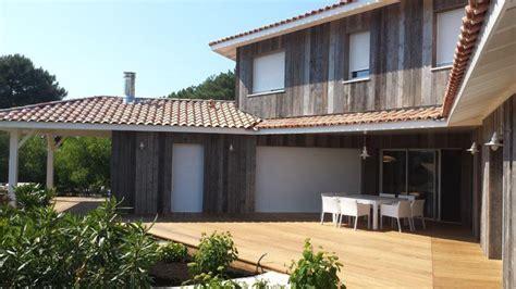 Maison D Architecte En Bois 2433 by Constructeur Maison Ossature Bois Aquitaine Avie Home