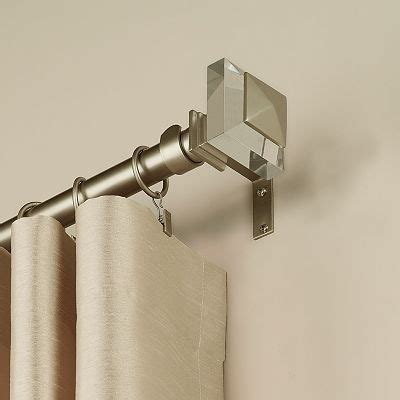 cool curtain rods 41 99 at kohls peri seattle curtain rod cool stuff