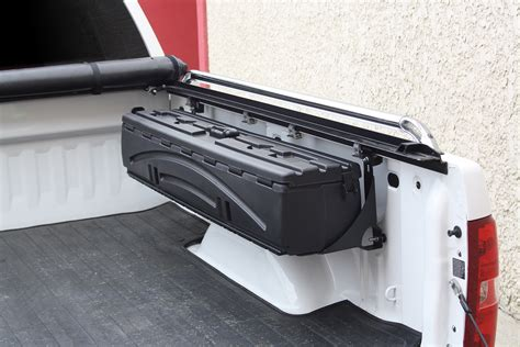 truck bed gun storage du ha 70200 humpstor all in one truck bed storage box unit