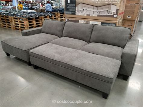Sectional Sofa With Chaise And Ottoman Chaise Sofa With Storage Ottoman
