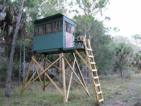 Elevated Hunting Blind Plans Pin Elevated Deer Blind Plans Image Search Results On