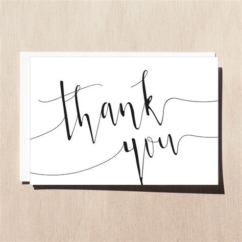 jist card template printable thank you card with envelope template wedding thank