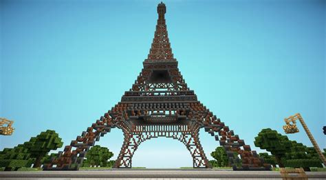 home of the eifell tower minecraft eiffel tower minecraft project
