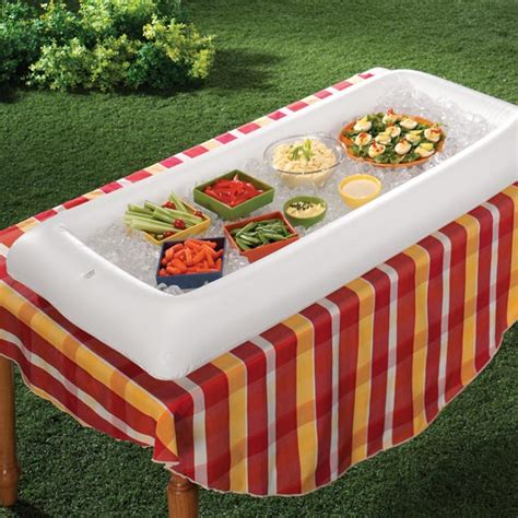 inflatable serving bar inflatable buffet cooler walter