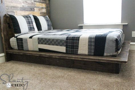 easy diy platform bed 15 diy platform beds that are easy to build home and