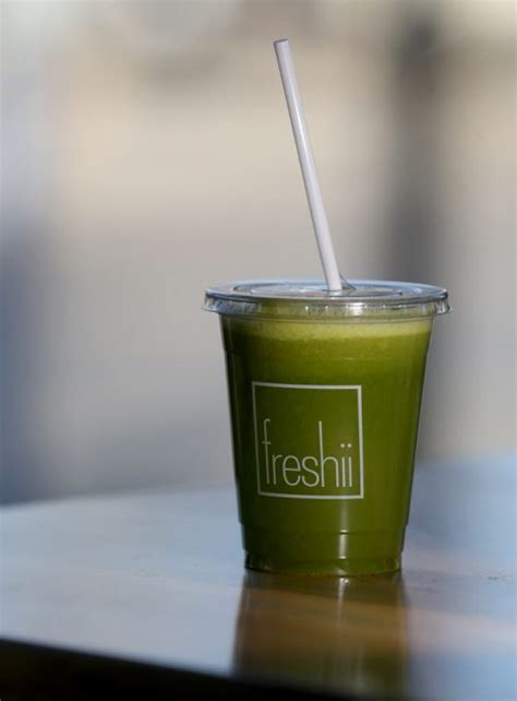 Freshii Mighty Detox the winnipeg free press store