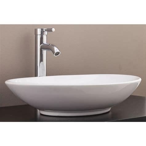 oval bathroom vanity above counter bathroom vanity oval ceramic basin buy