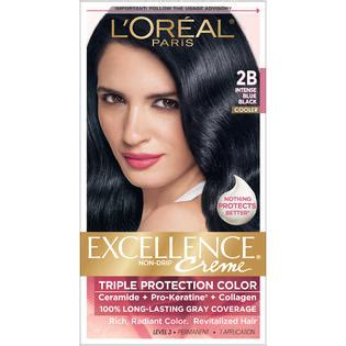 l oreal hair color 1b blue black cooler excellence creme richesse level3 ebay l oreal protection 2b cooler blue black hair color 1 kt box hair care