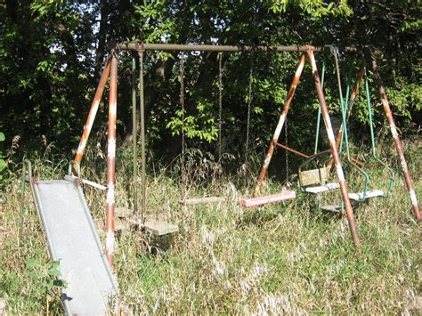 garden swings for 1 year olds an old swing set i would have loved this place when i