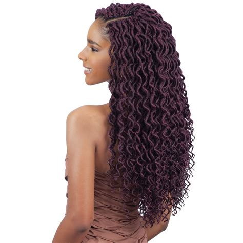 how to curl the ends of synthetic braids 2x soft curly faux loc 18 quot freetress synthetic crochet
