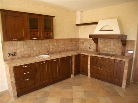foto modelo muebles cocina madera rustico balt muebles  medida muebles de cocinas oficinas