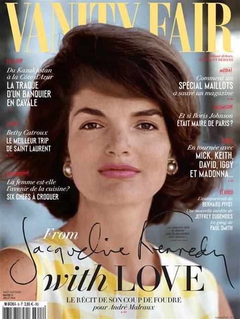 Vanity Fair Kennedy by Jackie Kennedy En Couverture Du Nouveau Num 233 Ro De Vanity