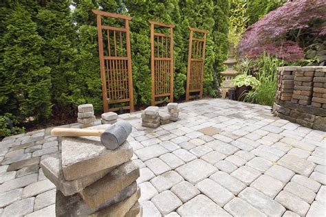Patio Pavers Guelph Creating Privacy Through Landscaping Dirt Cheap