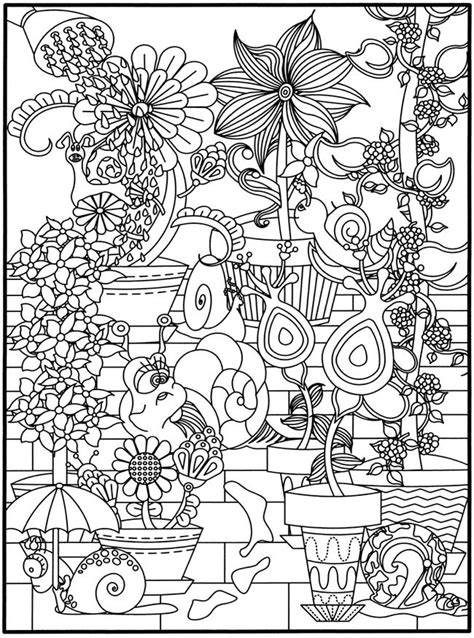 3 d coloring book flower power printables pinterest