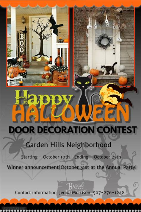 contest flyers templates door decoration contest template postermywall