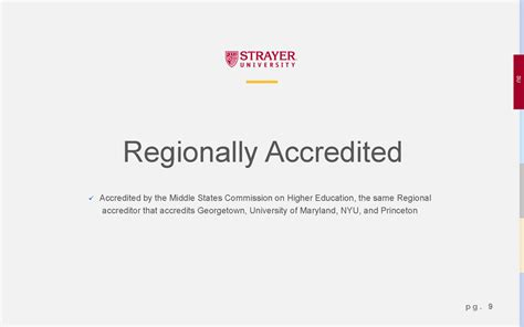 Regionally Accredited Mba by Strayer Strayer Page 09 Gif