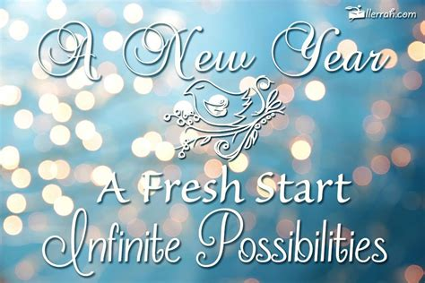 new year new start new fresh start for the new year