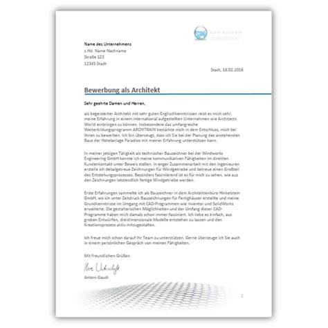 Muster Einladung Einstellungstest Bewerbungsvorlage Architekt Bewerbungsdesigns