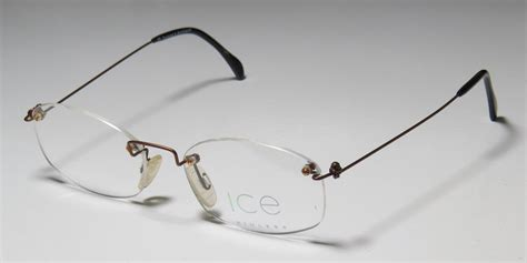 new 5 50 18 140 rimless drill mount eyeglass