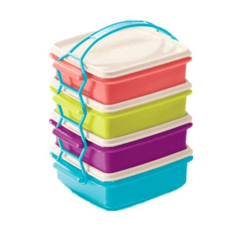 Tupperware Rantang Susun 3 jual tupperware new carry all set rantang 4 susun