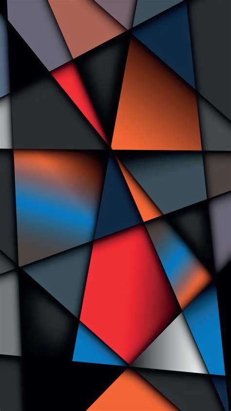 geometric phone wallpaper wallpapersafari