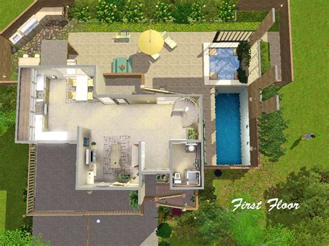 the not so big house plans house plan mts ung999 m21 mod the sims not so big notable charvoo