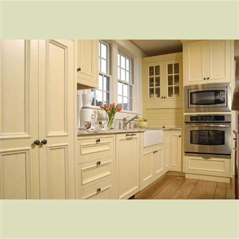 Solid Wood Cabinets Kitchen | china solid wood kitchen cabinet china cream color wood