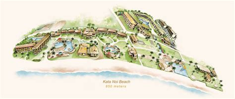 katathani resort map katathani phuket resort kata noi luxury hotel