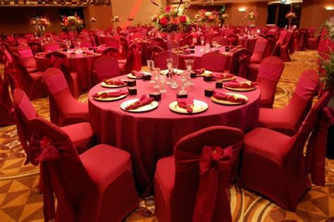 red themed events photo gallery photo of gorgeous red wedding reception