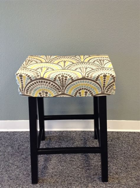 Rectangular Bar Stool Seat Covers by Fitted Saddle Stool Seat Cushion Rectangular Cover
