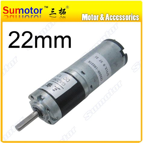 High Speed Micro Dc Hm Motor With Gear N50 Dc3v 3v 15v Berkualitas gx22 d 22mm 12v small robot motor high torque low speed planetary gear motor dc brushed tubular