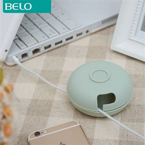 Cable Management Pemisah Kabel Cable Winder Organizer usb wire cord cable winder holder organizer management box