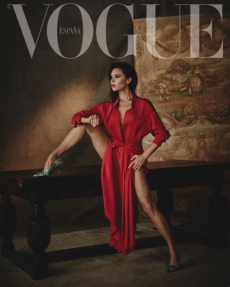 Beckham Is Magazines Of The Year by Beckham For Vogue Magazine Spain February 2018
