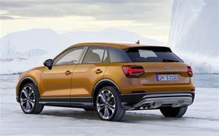 audi q2 compact suv unveiled on sale in australia in 2017