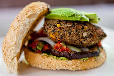 black bean burger recipe dishmaps