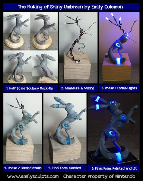 how to make clay shiny the of shiny umbreon by emilysculpts on deviantart