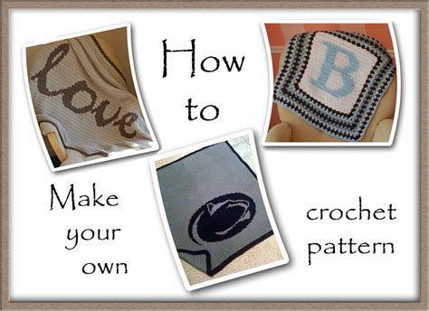 How Do You Make Your Own Paper - crochet graph pattern tutorial a handmade year