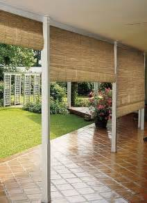 bamboo patio blinds best 25 outdoor blinds ideas on diy exterior