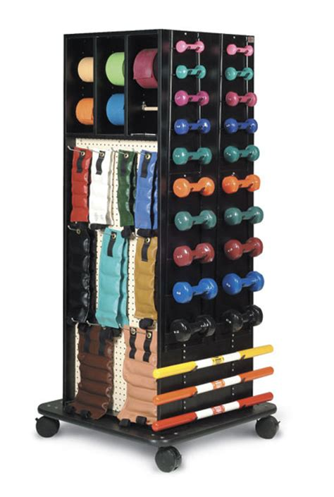 Resistance Band Rack by Hausmann Mega Accessory Racks For Exercise Bands And Weights