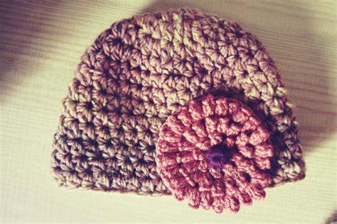 fiore facile uncinetto progetto ancora cappello all uncinetto facile con fiore