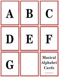 musical alphabet flashcards layton and resources